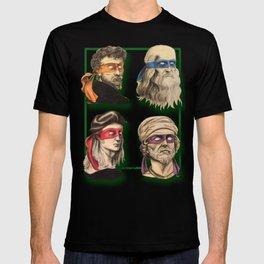 Renaissance Mutant Ninja Artists T-shirt