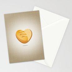 Loving bread Stationery Cards