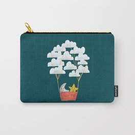 Hot cloud baloon - moon and star Carry-All Pouch