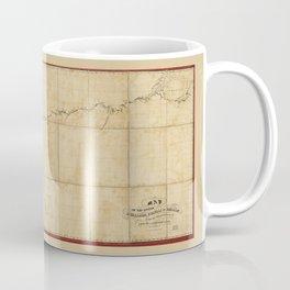 Map of the rivers Huallaga, Ucayali & Amazon (1852) Coffee Mug