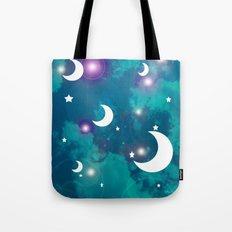 Night Stars Tote Bag