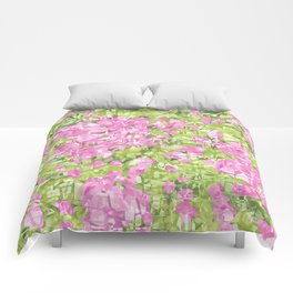 Spring blossoms explosion Comforters