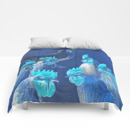 New Chick On The Block In Blue Comforters