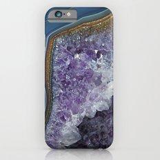 Amethyst Geode Agate Slim Case iPhone 6