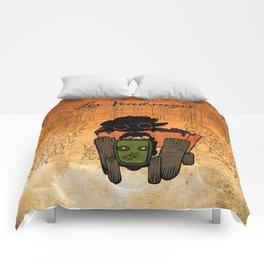 Les vendanges Comforters
