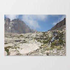 Trickles of Chasm Lake Canvas Print