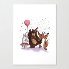 Let's party! Canvas Print