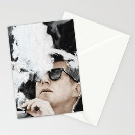 Cigar Smoker Cigar Lover JFK Gifts Stationery Cards
