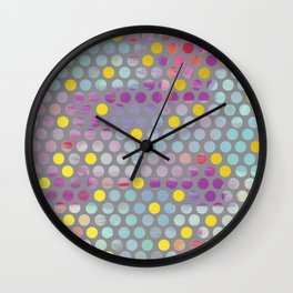 Glam Dots Wall Clock