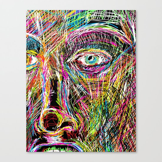 The Most Gigantic Lying Eyes Canvas Print