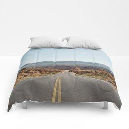On the Desert Road Comforters