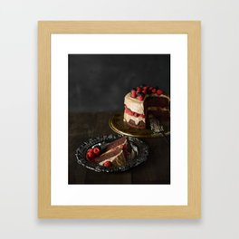 The Cake Framed Art Print