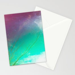 Missing Half Two Stationery Cards