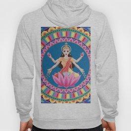 Goddess Lakshmi Lotus Mandala Hoody