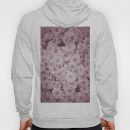 photography and illustration of daisy flowers in sweet pink perfect for clothes, gifts, products. Hoody