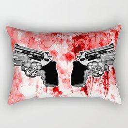 Double Triple (revolver) Rectangular Pillow