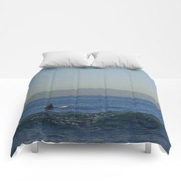 Morning Views of Catalina Comforters