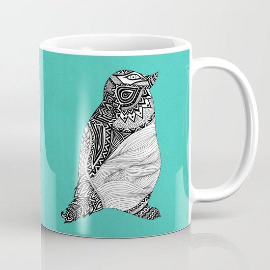 Tribal Penguin Mug