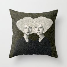 Orla and Olinda Throw Pillow