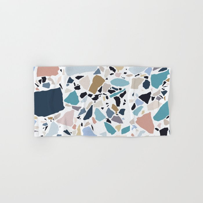 Pastel Terrazzo Hand & Bath Towel