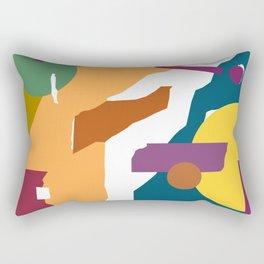 Tear 1 Rectangular Pillow