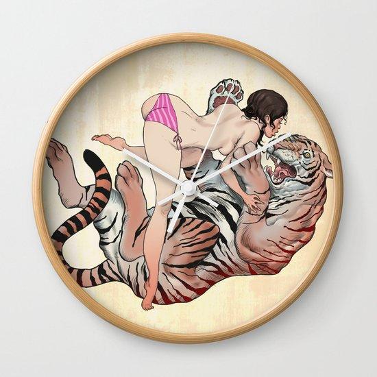 Tigerstyle Wall Clock