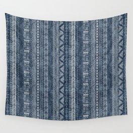 Mud Cloth Stripe Wall Tapestry