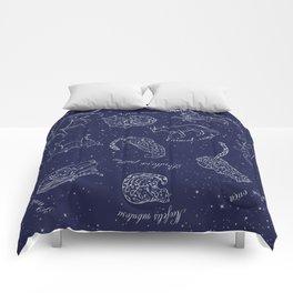 Big Cats Constellations Comforters