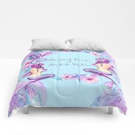 Lavender Love Letter Comforters