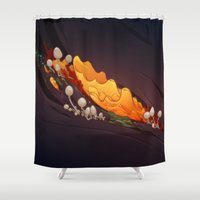 Breakdown Shower Curtain