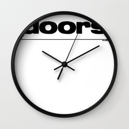 Master Key Wall Clock