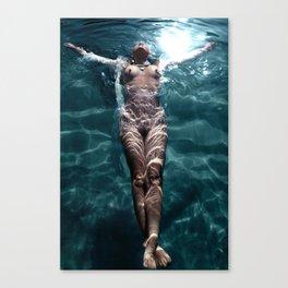 Sienna - Natural pool Canvas Print