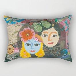 Paper Dollies - Couple Rectangular Pillow
