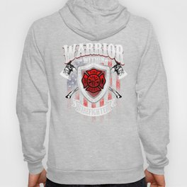 Warrior Within Firefighter - Fire Department Axe Hoody