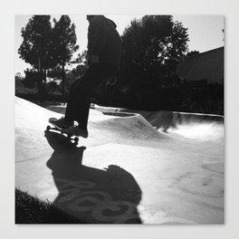 Skater at Derby Canvas Print