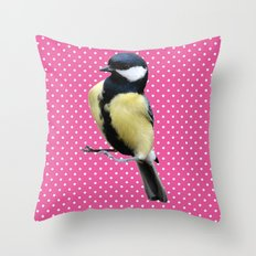 Bird 02 Throw Pillow