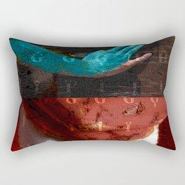 chiseled in stone Rectangular Pillow