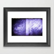 Lomographic Sky 3 Framed Art Print