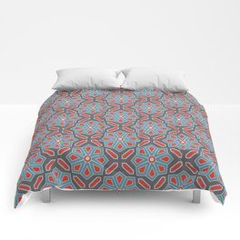 Volcanic Eruption Abstract Print Seamless Pattern Comforters