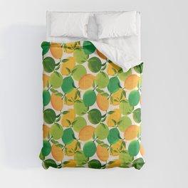 Lemons and Limes Comforters