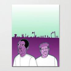 1001 Black Men--#476 Canvas Print