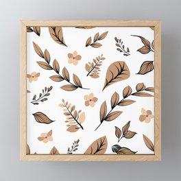 Flower Design Series 16 Framed Mini Art Print