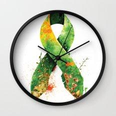 Nature Ribbon Wall Clock