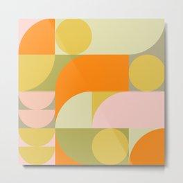 Summer Geometry 79 Metal Print