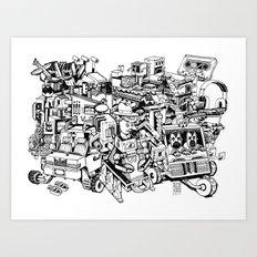 Sketchbook Composite - 1 Art Print