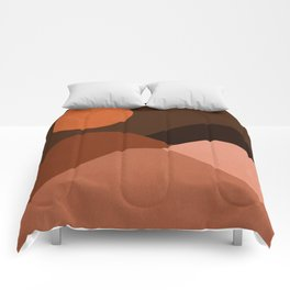 Abstraction_Mountains_SUN_MNIMALISM Comforters