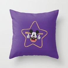 Walk of Fame Throw Pillow