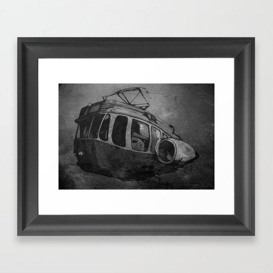 3T Framed Art Print