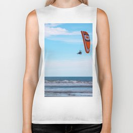 Flying Man Biker Tank