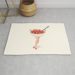 Cereal Pin-Up : Fruit Loops Rug